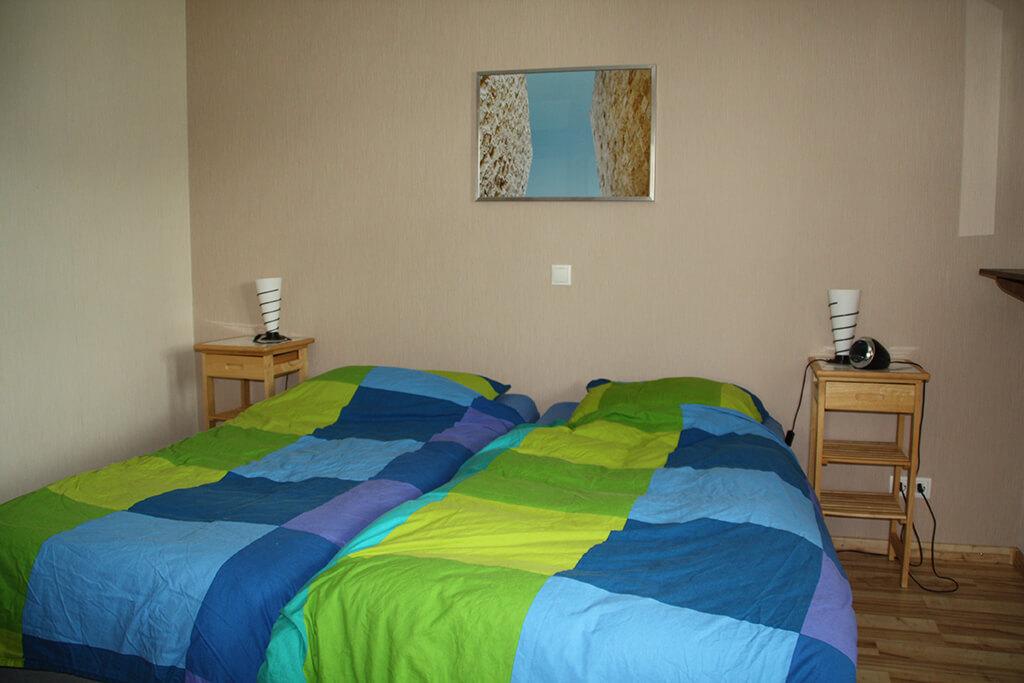 Extra Slaapkamer Maken: Eifel ranch. Blauwe slaapkamer interieur ...